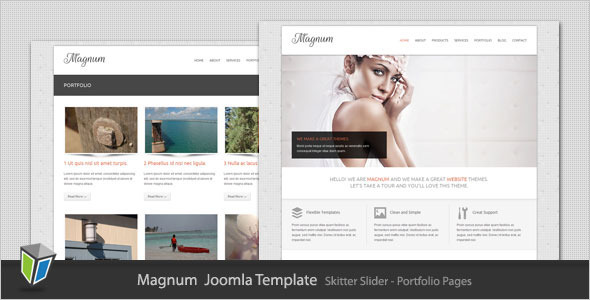 Magnum - Business and Portfolio Joomla Template Corporate