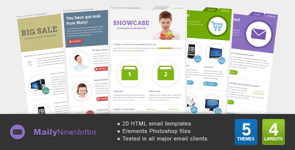 Maily Newsletter EmailTemplates Email Template