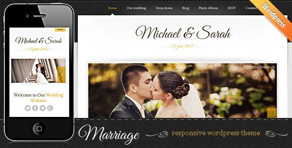 Marriage - Responsive Wedding Wordpress Theme Entertainment