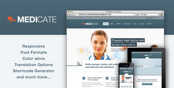 Medicate - Responsive Medical and Health Theme WordPress