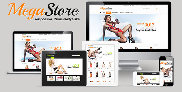 MegaStore - Responsive, Retina, Powerful Settings