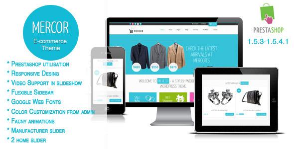 Mercor - Responsive Prestashop Theme Shopping