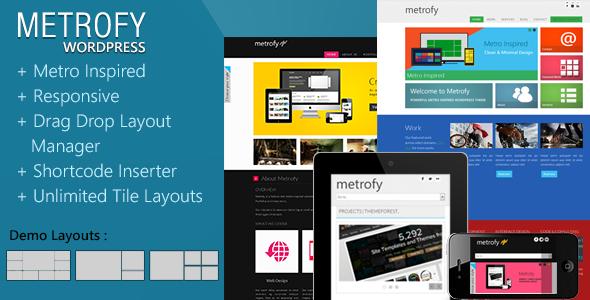 Metrofy WP WordPress Creative