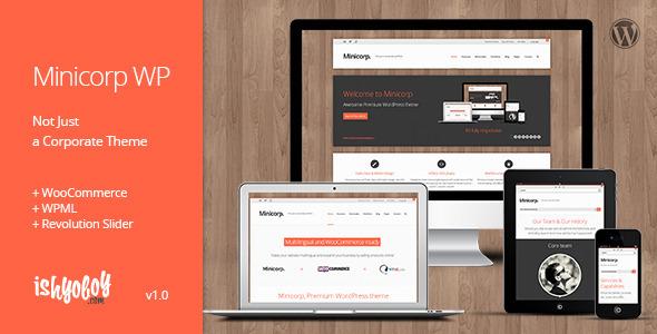 Minicorp WP - Not Just a Corporate Theme WordPress Corporate