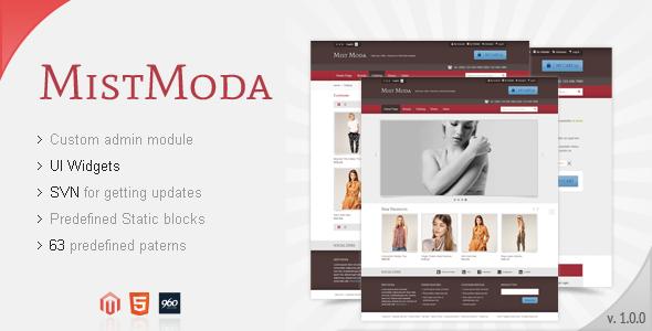 Mistmoda - Magento theme