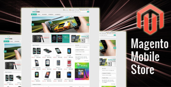 Mobile Store Magento Theme