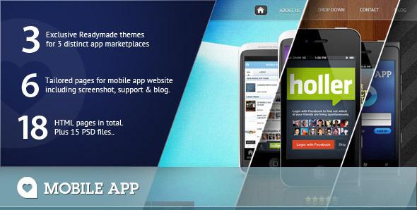 Mobile App Template Creative