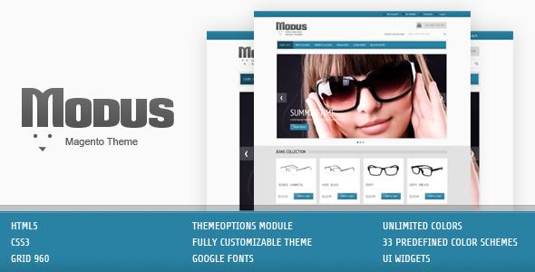 Modus - Magento theme