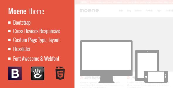 Moene - Responsive Concrete5 Theme Creative