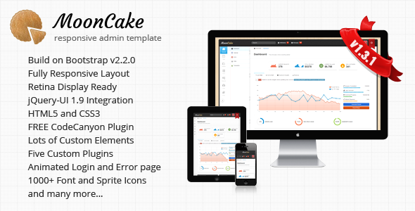 MoonCake - Responsive Admin Template AdminTemplates