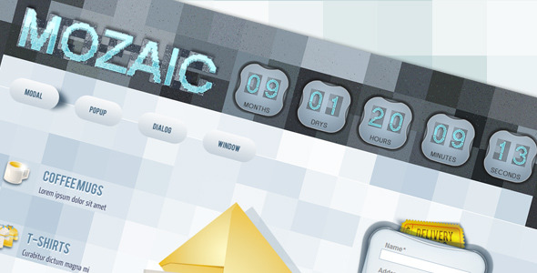 Mozaic Landing Page Template LandingPages Landing Page
