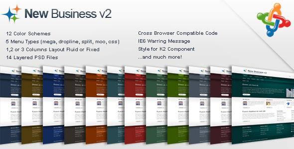 New Business v2 - Business Corporate Joomla Template
