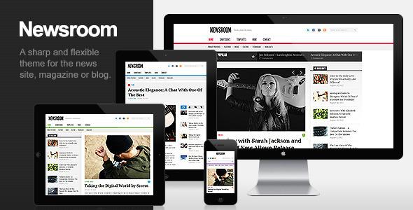Newsroom - Responsive News & Magazine Theme WordPress