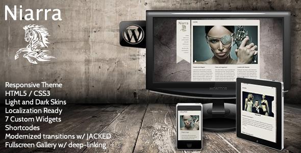 Niarra - Creative Responsive WordPress Theme Creative