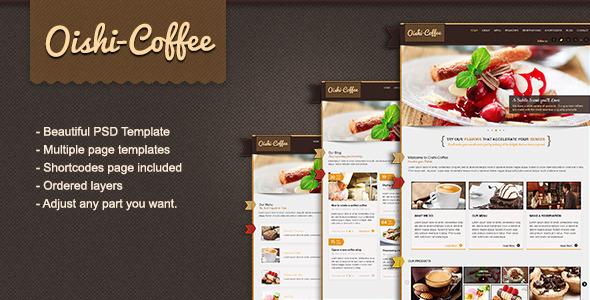 Oishi-Coffee PSD Retail