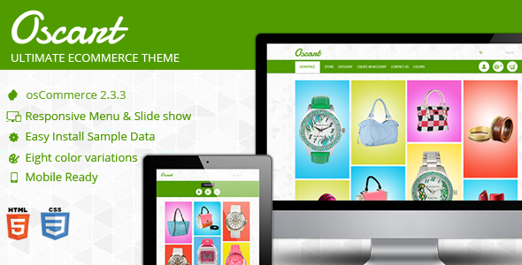Oscart- Mobile ready OsCommerce theme Fashion