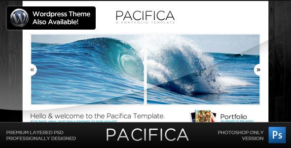 Pacifica Theme - The PSD Version Creative PSDTemplates