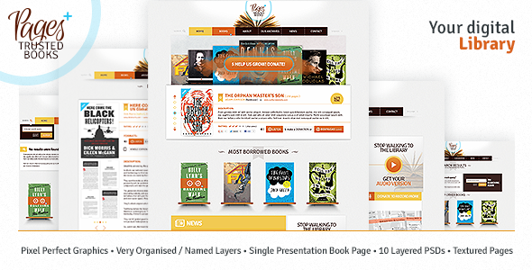 Pages Plus + PSD Nonprofit