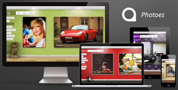 Photoes HTML Template Creative