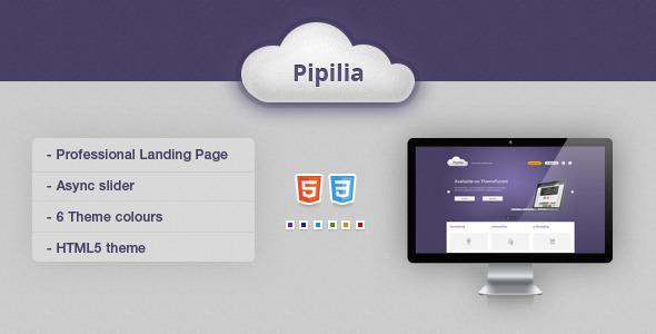 Pipilia Landing Page LandingPages Landing Page