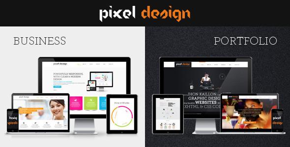 Pixel Design PSD Corporate