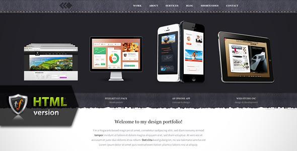 PixelWhiz - Portfolio HTML Theme Template Creative