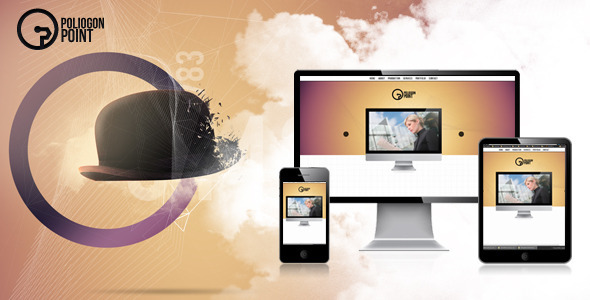 PoligonPoint - Responsive Business Onepage Template Corporate
