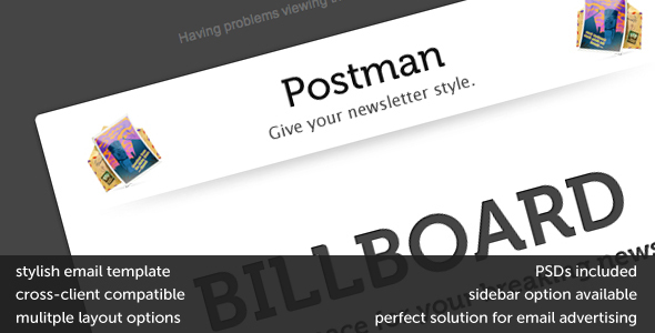 Postman EmailTemplates Newsletters