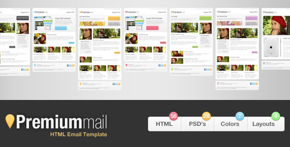 PremiumMail - Email Template