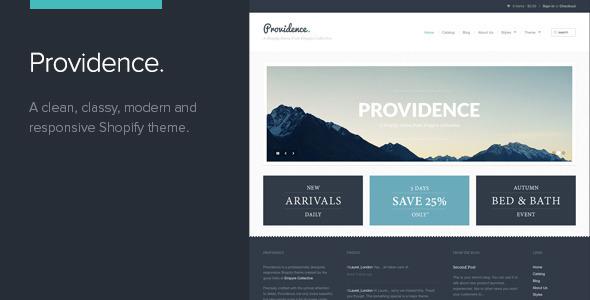 Providence - Shopify Theme
