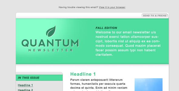Quantum Email Newsletter