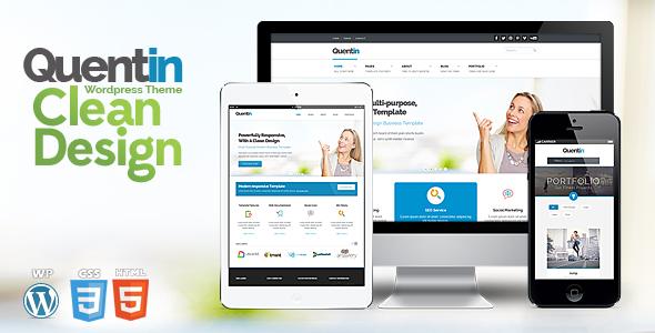Quentin - Premium Multipurpose Wordpress Theme Corporate