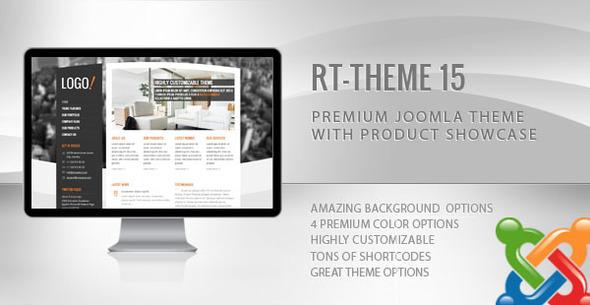 RT-Theme 15 Premium Joomla Theme