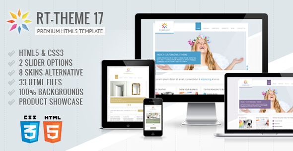 RT-Theme 17 Premium HTML5 Template Corporate