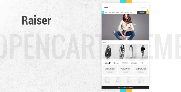 Raiser - Premium OpenCart Theme