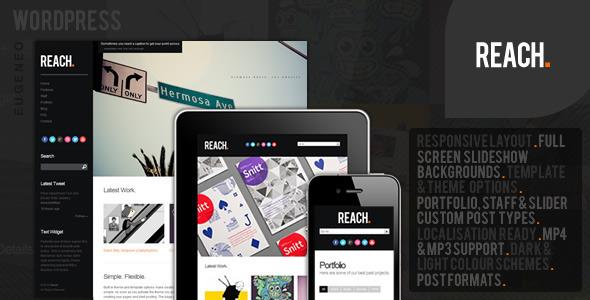 Reach - Business Portfolio WordPress Theme Creative