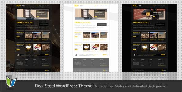RealSteel - Business and Portfolio WordPress Theme Corporate