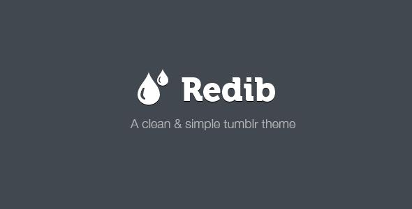 Redib Tumblr Template