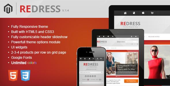 Redress - Responsive Magento Theme Fashion