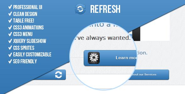 Refresh! Premium Landing Page LandingPages Landing Page