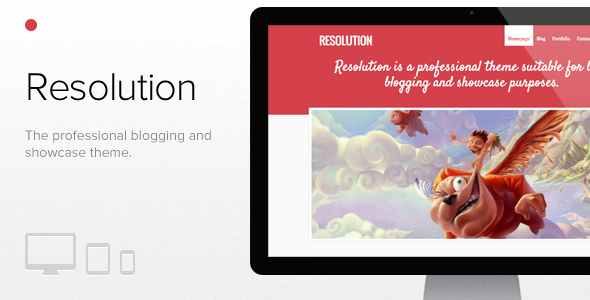 Resolution WordPress Blog/Magazine