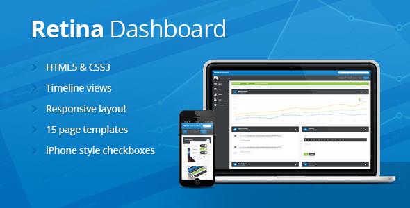 Retina Dashboard Template AdminTemplates