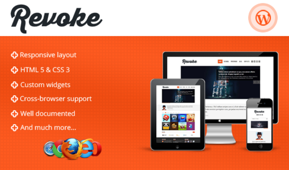 Revoke – Responsive WordPress Theme Creative