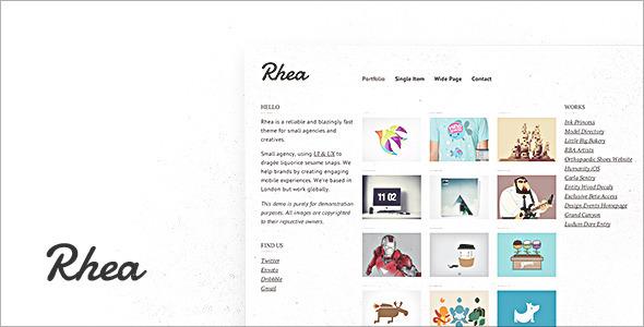 Rhea Template Creative
