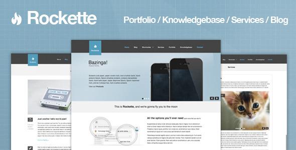 Rockette - Professional Portfolio & Business Theme WordPress