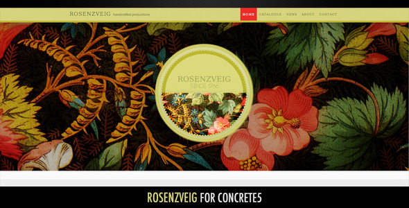 Rosenzveig–All Purpose Theme For Concrete5