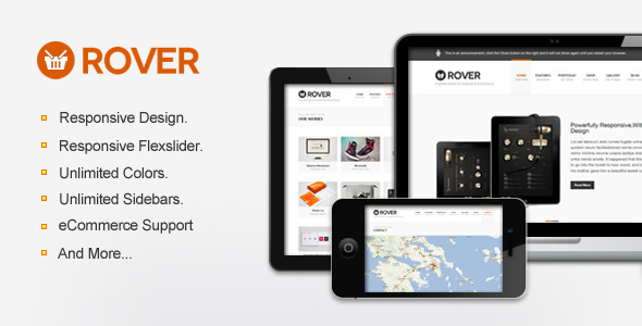 Rover Business & eCommerce WordPress Theme Corporate