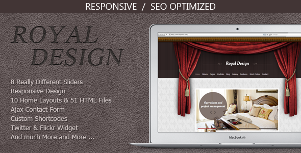 Royal Design - Modern and Clean Template Creative