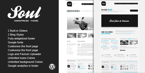 SOUL - Premium WordPress Theme Creative