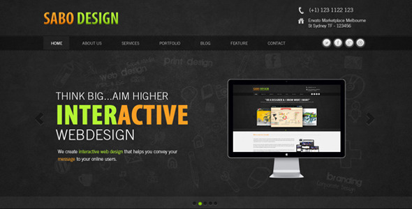 Sabo Design Template Creative